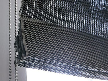 Sheer paper yarn roman blind FOLDING BLIND WITH CHAIN