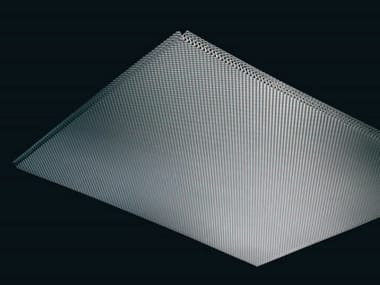 Expanded mesh ceiling tiles Ceiling tiles