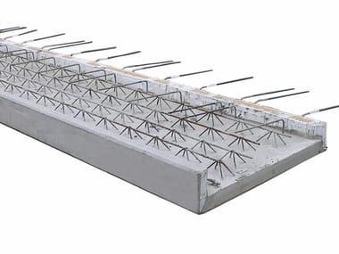 Precast reinforced concrete structural component BALCONIES