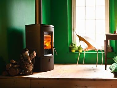 Stufa a legna per riscaldamento aria NOGAL