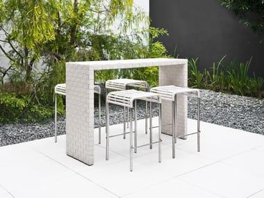 Outdoor bar and café furniture
