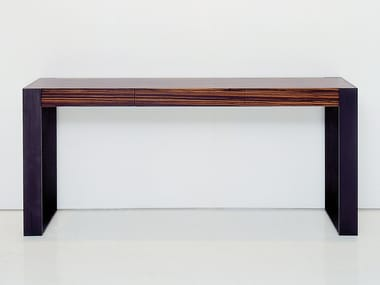 Rectangular wooden console table CONNECT | Console table