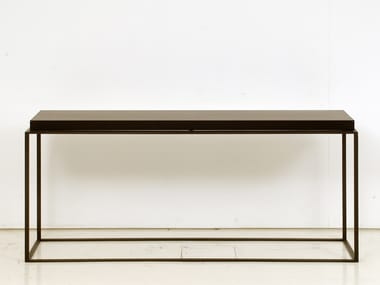 Rectangular wooden console table HOUSTON | Console table