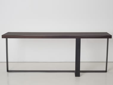 Rectangular wooden console table NEPAL | Console table