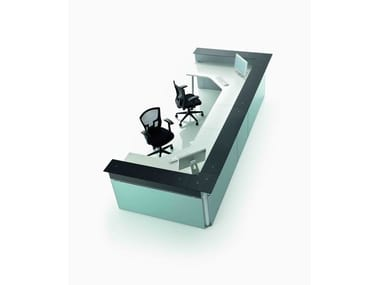 Modular Office reception desk OP | Office reception desk