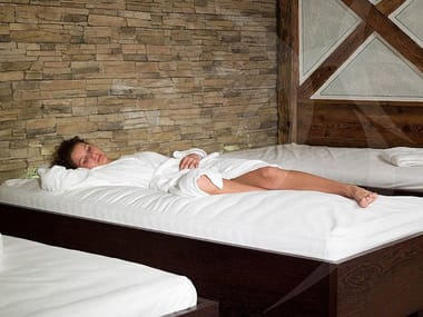 Water heated spa bed Water spa bed