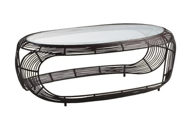 Rattan coffee table MANOLO | Coffee table