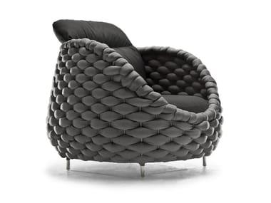 Upholstered armchair RAPUNZEL | Upholstered armchair