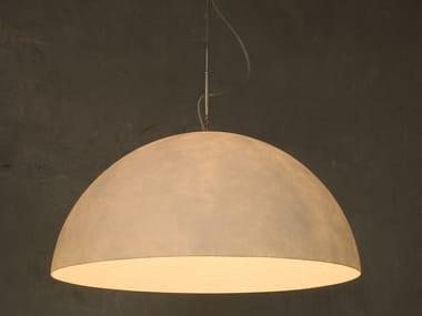 Nebulite® pendant lamp MEZZA LUNA 1 NEBULITE
