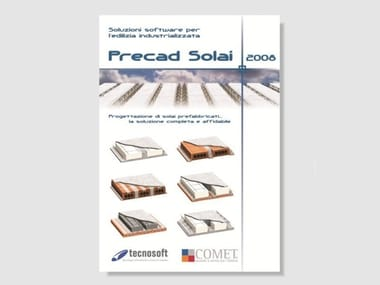 Precast concrete floor structures design software PRECAD SOLAI 2008
