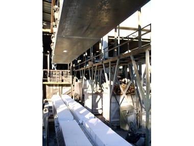 Structural calculation for pre-compressed reinforced concrete PRODUZIONE - LOGISTICA