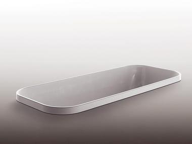 Baignoire encastrable rectangulaire en méthacrylate GEO