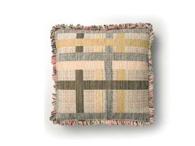 Square fabric cushion BOUTIQUE PILLOW