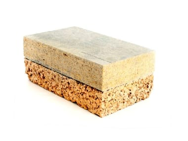 Natural insulating felt and panel for sustainable building BetonCork®