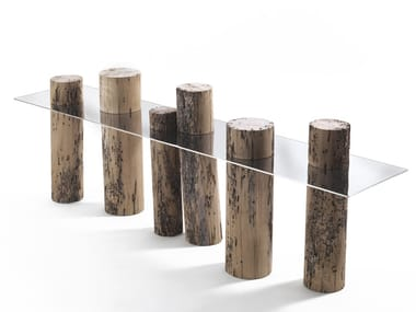 Consolle in legno di briccola VENICE