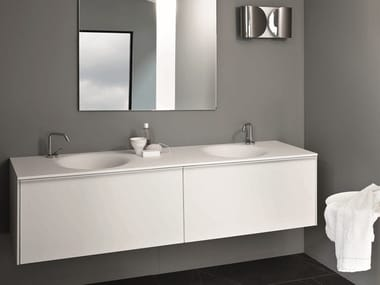 Wall-mounted vanity unit with drawers MORPHING UNIT 180