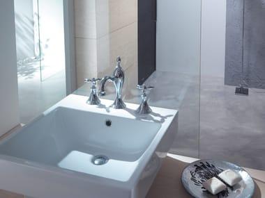 Miscelatore per lavabo a 3 fori in stile classico TIMOR | Rubinetto per lavabo