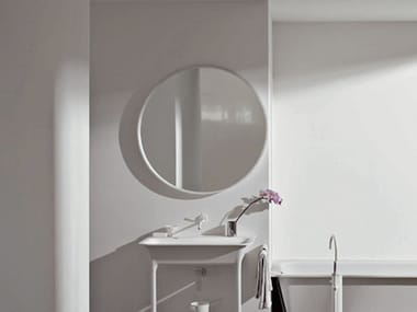 Espelho redondo para banheiro MORPHING | Espelho para banheiro