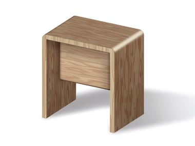 Wooden bathroom stool Bathroom stool