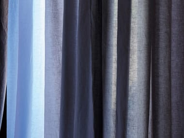 Washable linen fabric for curtains AGONDA