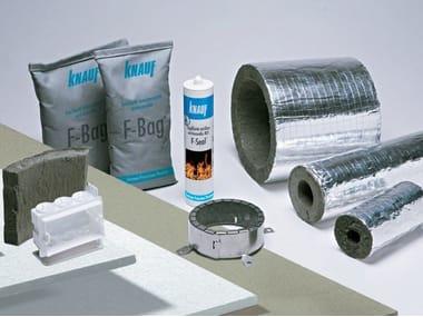 Fireproof gypsum plasterboard LASTRA E PANNELLO IGNIFUGO