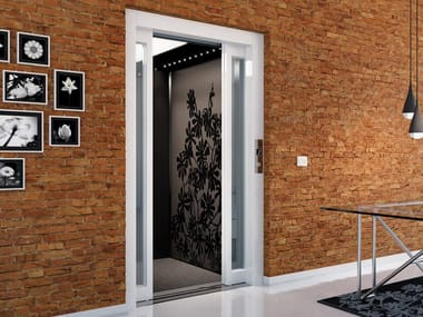Electric hydraulic outdoor house lift DOMUSLIFT | House lift