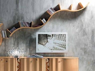 Wooden wall shelf Wall shelf