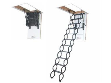 Scissors loft ladder LST