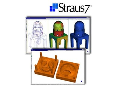 CAD-integrated structural calculation software Straus7 - MESHATORE AUTOMATICO