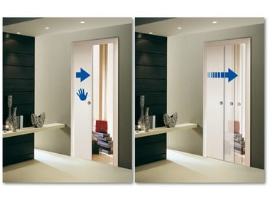 System for slow sliding door closure SLOW