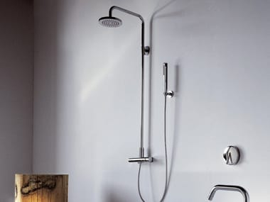 Shower panel with overhead shower ISY | Shower panel with overhead shower