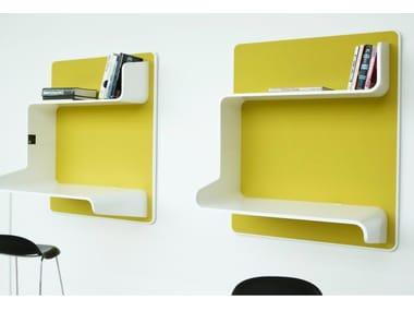 Wooden wall shelf WALL IN ONE