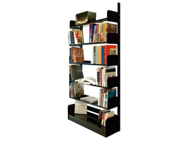 Freestanding steel bookcase CONGRESSO Lips Vago