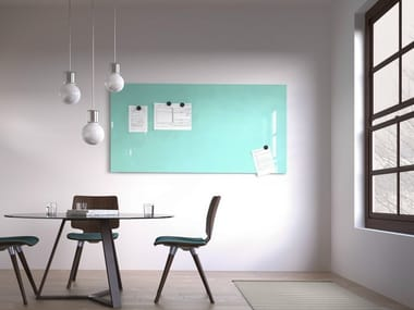 Magnetic wall-mounted office whiteboard MAGVISION