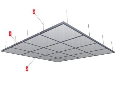 Fireproof mineral fibre ceiling tiles BOSTON CE 14/38 | Ceiling tiles