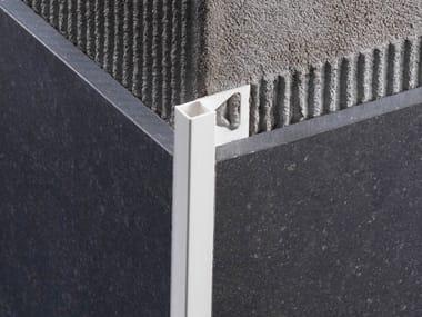 Profil s de protection d 39 angle profilitec archiproducts - Profile carrelage angle sortant ...