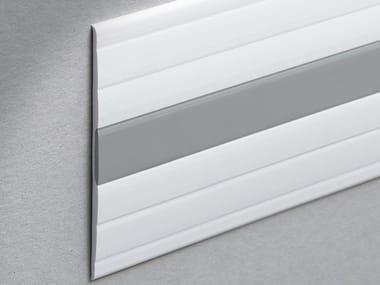 Co-ordinated wall protection strip Bicolor Design WALLPROTECTION WP