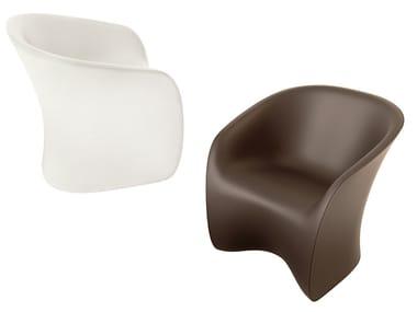 Polyethylene garden armchair NUVOLA 923