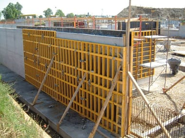 Formwork and formwork system for concrete MODULO 2700-S120