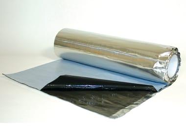 Self-adhesive Anti-Vibration Butyl Membrane BU-TYLENE ALU SOUND
