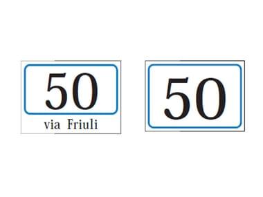 Numeri Civici In Plastica.Numeri Civici Ferramenta Per La Casa E Fai Da Te Archiproducts