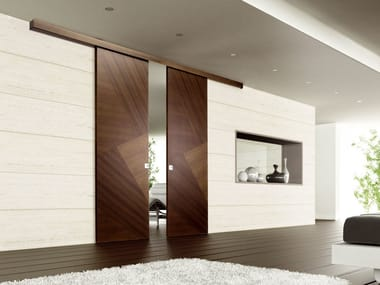 Wooden sliding door RIO CANALETTO | Sliding door