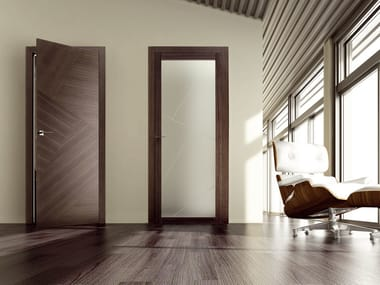 Hinged wooden door RIO CANALETTO | Hinged door