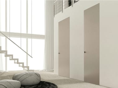 Flush-fitting lacquered door RIO ZERO