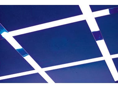 Expanded metal ceiling tiles ATENA | Expanded metal ceiling tiles