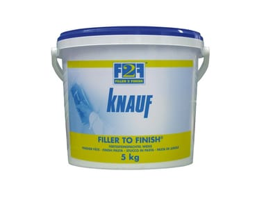 Gypsum and decorative plaster F2F - FILLER TO FINISH