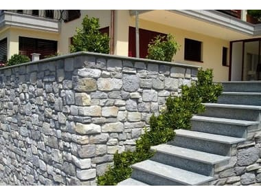 Outdoor reconstructed stone wall tiles APPENNINO