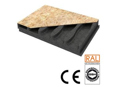 Ventilated roof system AIRWOOD X-EV