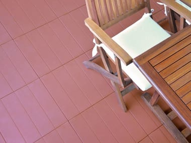 Plastic outdoor floor tiles PIASTRELLA