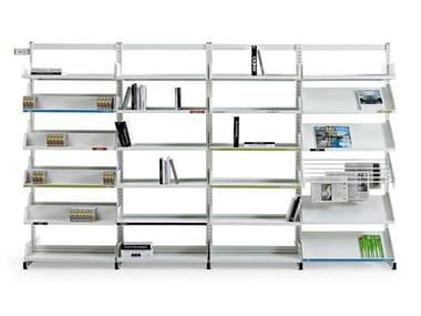 Modular steel office shelving LEVEL